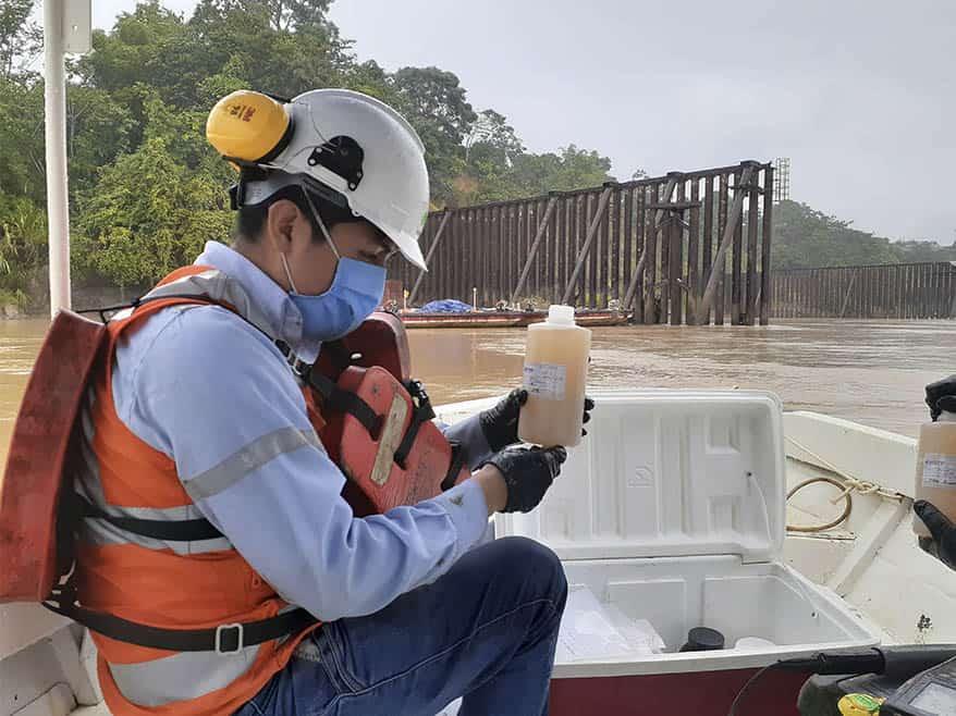Monitoreo de la calidad de agua